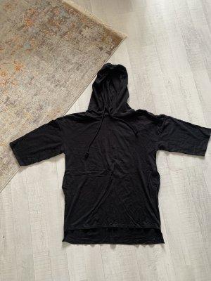 Zara Trafaluc Hooded Shirt black