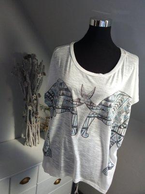 Damen Shirt Elefant