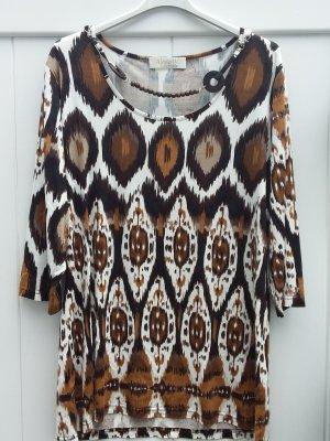 Alessa W. Camisa larga multicolor