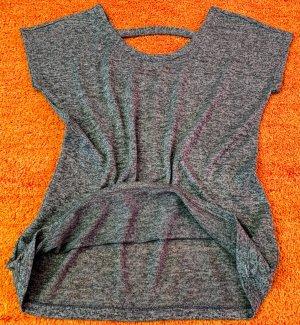 Damen Shirt fein strick Kimono Ärmel Gr.38 in Grau von Janina NW