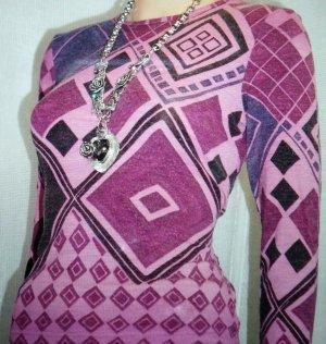 Damen Shirt Jersey Woll Pullover Gr.36 in Mehrfarbig von FABIANI
