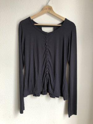 Długa koszulka ciemnoniebieski