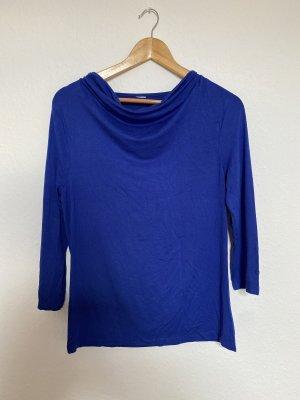 Długa koszulka niebieski