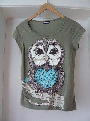 Chillytime T-Shirt khaki cotton