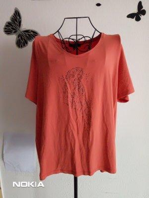 Damen Shirt mit Pailletten in Größe XL