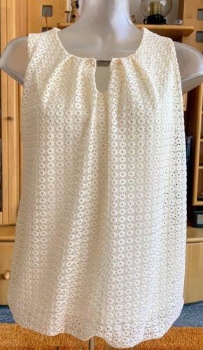 Damen Shirt Sommer Ballon Bluse Gr.S in Creme von Lisa Tossa NW