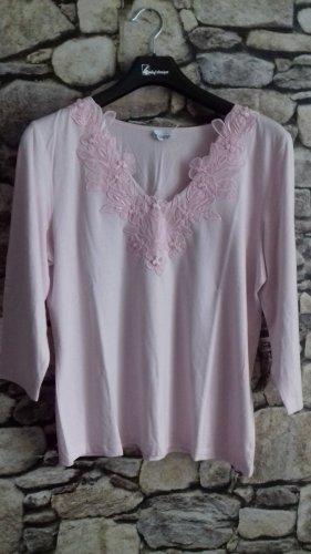 Together Maglia con scollo a V rosa chiaro-rosa pallido Poliestere
