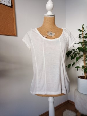 Broadway T-shirt bianco sporco