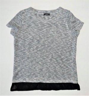 Damen Shirt von Yessica C&A Gr. XS / 34 Tunika T-Schirt Pulli Pullover Strick kurzarm Tunika Kurzarmpulli
