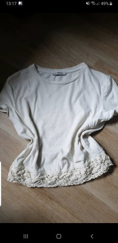 Zara Camicia oversize bianco sporco