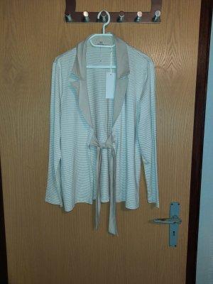 Verse Collection Chaqueta estilo camisa blanco-crema