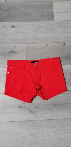 Tally Weijl Short en jean rouge