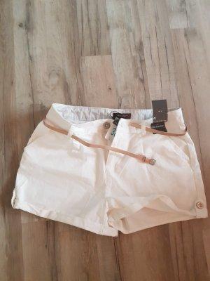 damen shorts weiss neu