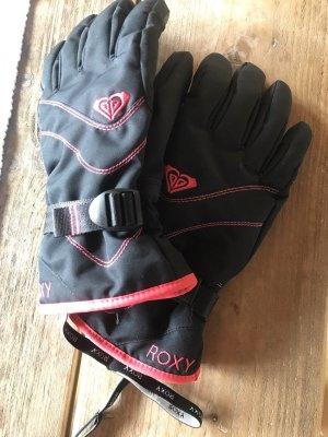 Roxy Thermohandschoenen zwart-roze