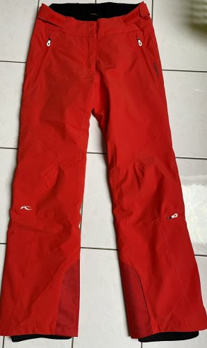 Kjus Snow Pants red-brick red