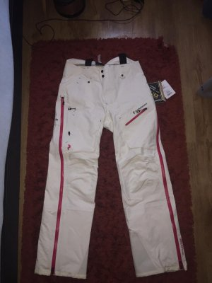 Peak performance Pantalon de ski blanc-rouge