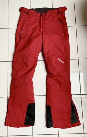 benger Pantalón de esquí rojo