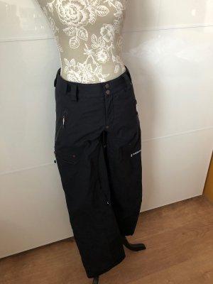 Peak performance Pantalón de esquí negro poliamida