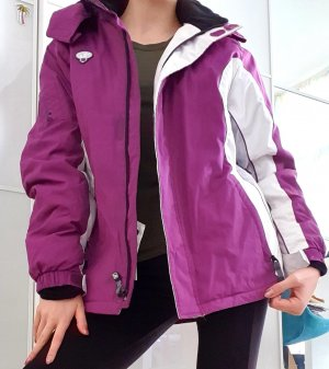 Outdoor Jacket white-lilac