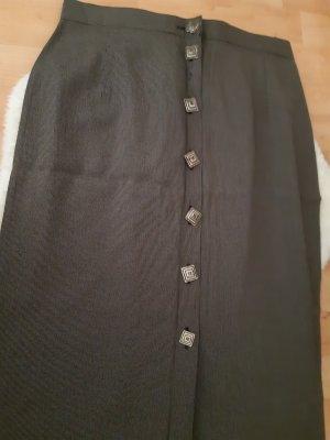C&A Falda de talle alto gris oscuro