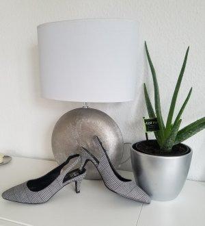 Damen Slingback-Pumps mit trendstarken Glencheck-Muster von Liva Loop (40)