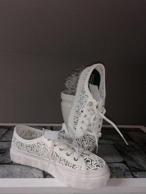 Tommy Hilfiger Sneaker stringata bianco sporco