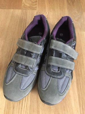 Alive Basket velcro gris-violet