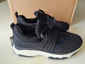 Sneaker slip-on nero