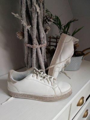 Damen Sneaker glitzer