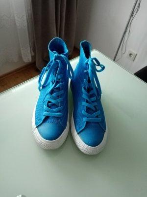 benger Sneakers met veters babyblauw