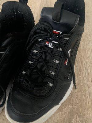 Damen Sneaker In Schwarz Marke FILA