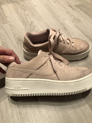 Damen Sneaker NIKE Air Force 1 Sage Low Particle Beige/particle