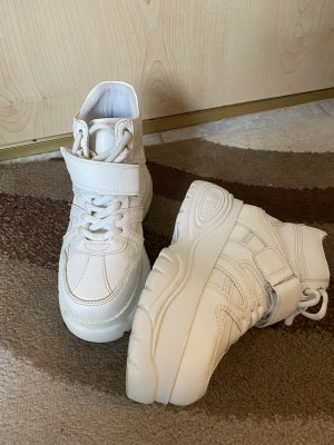 Catwalk Sneakers met hak wit