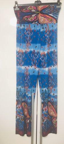 Pantalone palazzo blu