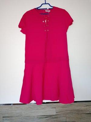 Cacharel Sukienka z krótkim rękawem czerwony neonowy