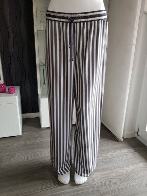 Bonita Pantalone palazzo grigio-bianco Viscosa