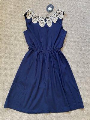 Damen Sommerkleid Dunkelblau Gr. XS NEU !!