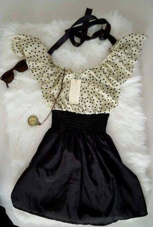 Name it Summer Dress black-cream