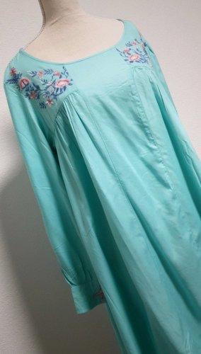 Malvin Vestido tipo túnica turquesa