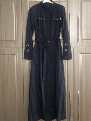 Zühre Abrigo largo azul oscuro