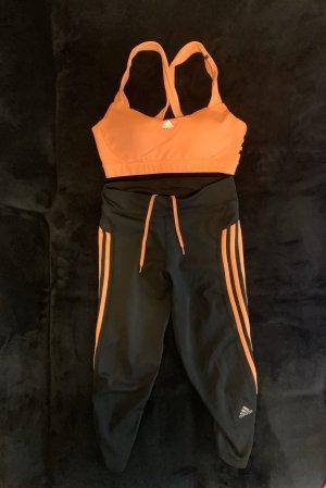 Damen Sport Fitnessanzug Adidas