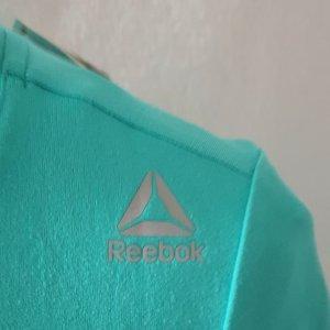 Damen Sport-T-Shirt von Reebock in türkis
