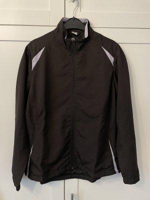 Crave Sports Sports Jacket black brown-mauve