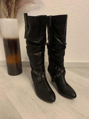 s.Oliver Bottes stretch noir