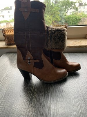 Tamaris Botte courte brun