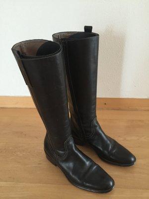 Damen-Stiefel, Donna Carolina, Leder schwarz, Gr. 36,5-37