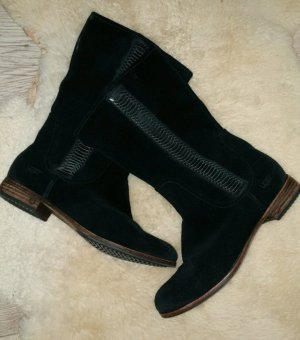 UGG Australia Winter Boots black leather