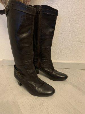Esprit Stretch Boots dark brown