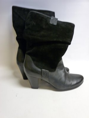 Damen Stiefel in Schwarz Leder unbenutzt Leder Schwarz Stiefletten Gr. 37 Marc