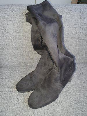 Tamaris Bottes à talon gris foncé